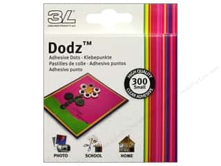 3L Dodz Adhesive Dots Small Clear 300pc