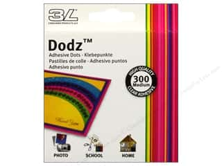 3L Dodz Adhesive Dots Medium Clear 300pc