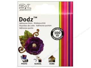 Plus $2 - $3: 3L Dodz Adhesive Dots 100 pc. Large 1/2 in.