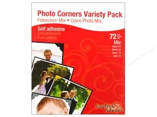 3L Scrapbook Adhesives Photo Corners Variety 72pc