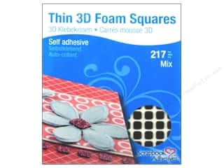 SCRAPBOOK ADHESIVES BY 3L 3D Foam Squares 3D Thin