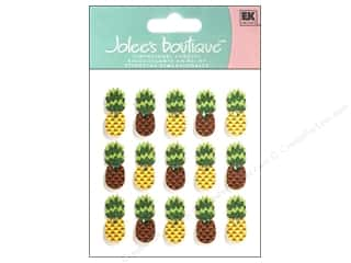 Jewel Craft Brown: Jolee's Boutique Stickers Repeats Pineapple