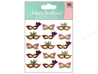 Jolee's Boutique Stickers Repeats Mardi Gras Masks