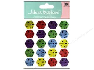 EK Success Jolee's Boutique Stickers: Jolee's Boutique Stickers Repeats Dice