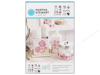 Martha Stewart Crafts Martha Stewart Stencil by Plaid: Martha Stewart Stencils by Plaid Adhesive Blossoms