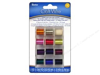 Darice Craft Wire 26 Ga 3yd Bright 12pc