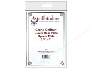"Dies Craft & Hobbies: Spellbinders Spacer Plate Grand Calibur Base Junior 8.5""x 6"""