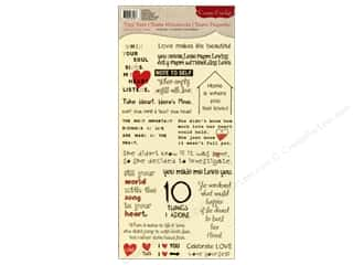 Cosmo Cricket Sticker Tiny Text Love