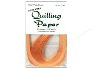 "Lake City Crafts Quilling Paper 50pc 1/8"" Flesh"
