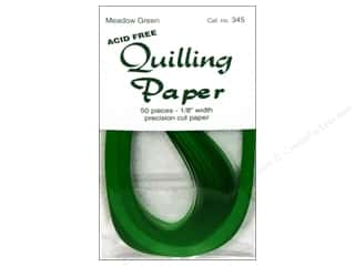 "Lake City Crafts Clearance Crafts: Lake City Crafts Quilling Paper 50pc 1/8"" Meadow"