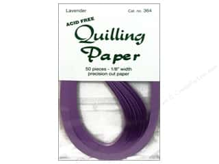 "Lake City Crafts Clearance Crafts: Lake City Crafts Quilling Paper 50 pc 1/8"" Lavender"