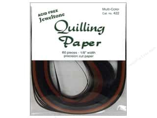 "Quilling Lake City Crafts Quilling Paper: Lake City Crafts Quilling Paper 60pc 1/8"" Jeweltones"