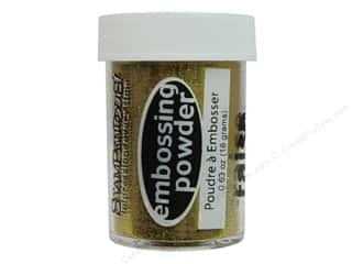 Embossing Aids All-American Crafts: Stampendous Embossing Powder 0.63oz Gold Tinsel
