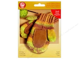 Gloves Clearance Crafts: Boye Suede Mitten Palms Small Light Grey