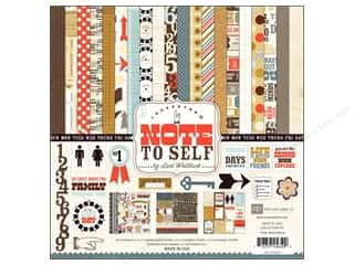 Echo Park Collection Kit 12x12 Note To Self