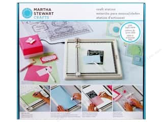 Weekly Specials EZ Acrylic Templates: Martha Stewart Tools Craft Station