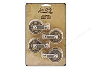 Metal Clearance Crafts: Tim Holtz Idea-ology Pulley Wheels