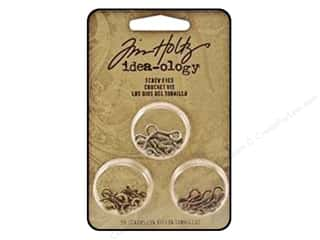 Hardware Tim Holtz Idea-ology: Tim Holtz Idea-ology Screw Eyes