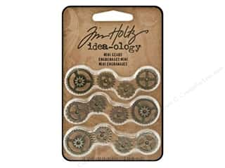 Tim Holtz paper dimensions: Tim Holtz Idea-ology Mini Gears