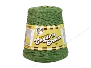 Weekly Specials Sugar n Cream Yarn Cone 14 oz: Lily Sugar 'n Cream Yarn Cone 14 oz. #02084 Sage