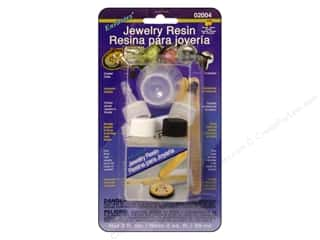 Resin, Ceramics, Plaster Brown: Envirotex Jewelry Resin 2oz Carded