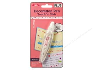 Plus Decoration Pen Touch n Slide Hearts