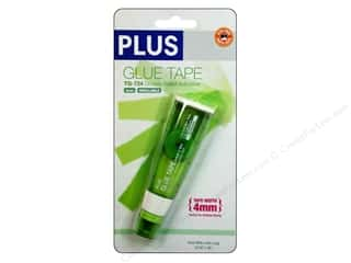 Glues/Adhesives: Plus Glue Tape Double Side 4mm Permanent 26'