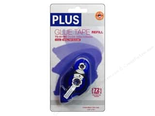 Plus: Plus Glue Tape Double Side 8.4mm Permanent Refill 72'