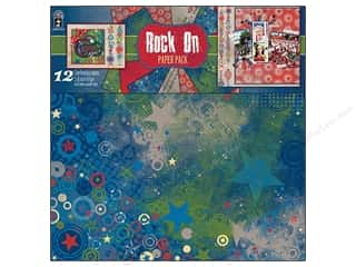 Hot off the Press Black: Hot Off The Press Paper Pack 12x12 Rock On