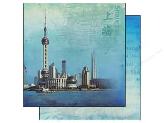 Best Creation 12 x 12 in. Paper China Shanghai (25 piece)