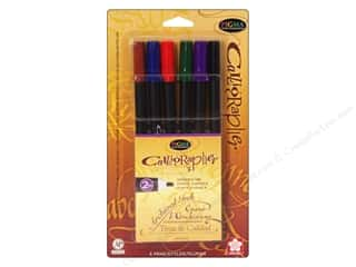 Sakura Memory Pens: Sakura Pigma Calligrapher Pen 2mm Assorted 6pc