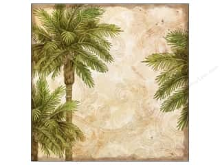 K&Co Paper 12x12 TC Travel Palms (25 piece)