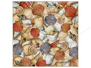Flowers K&Company 12 x 12 in. Paper: K&Company Paper 12x12 Tim Coffey Travel Shells (25 pieces)
