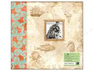 Grace Company, The Scrapbooking & Paper Crafts: K&Company Scrapbook Album Tim Coffey Travel 12x12