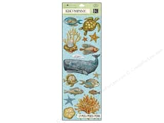 K&Co Adhesive Chipboard TC Travel Sea