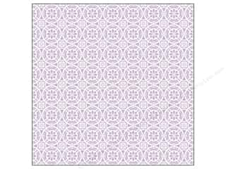 K&Company 12 x 12 in. Paper Bloomscape Therm Tile Lilac (12 piece)