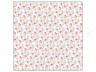 Kelly's K&Company 12 x 12 in. Paper: K&Company 12 x 12 in. Paper Bloomscape Collection Petite Rose (25 pieces)