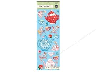 K&amp;Co Sticker Embossed Bloomscape
