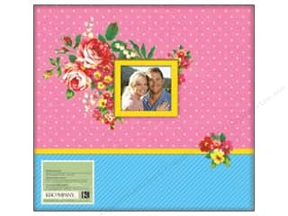 "K&Co Scrapbook Album 12""x 12"" Bloomscape"