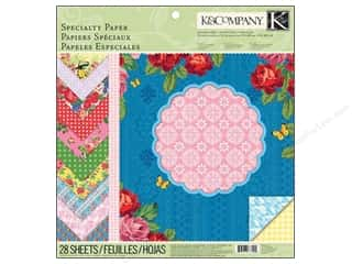K &amp; Company: K&amp;Co Paper Pad 12&quot;x 12&quot; Bloomscape Specialty