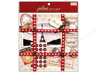 EK Jolee's Boutique Embellishment French General Ephemera Paper Kit French