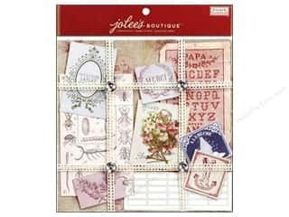 EK Jolee's Boutique Embellishment French General Ephemera Paper Kit Floral