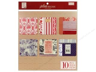 EK Jolee's Boutique Embellishment French General Fabric Sheets Adhesive