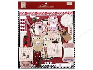 EK Jolee's Boutique Embellishment French General Page Pre Made