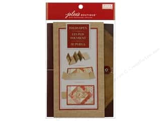 EK Jolee's Boutique Embellishment French General Mat Pad Fabric Red