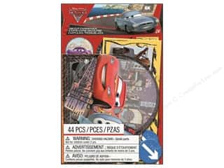 Creative Options Paper Die Cuts / Paper Shapes: EK Die Cuts Cardstock Disney Cars 2 (3 sets)