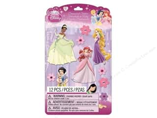 Disney: EK Disney Dimensional Stickers Princess 1 (3 set)