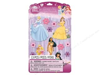 EK Disney Dimensional Stickers Princess 2 (3 set)