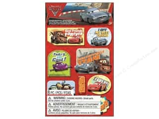 Scrapbooking Dimensional Stickers: EK Disney Dimensional Stickers Cars 2 (3 sets)