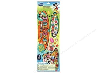 Disney Stickers: EK Disney Sticker Title Mickey (3 set)